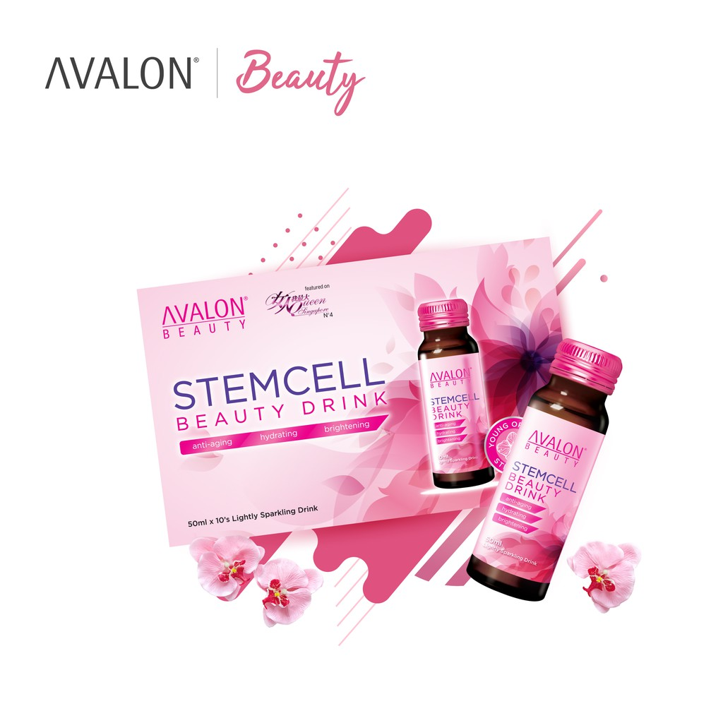 Best collagen drinks AVALON Stemcell Beauty Drink