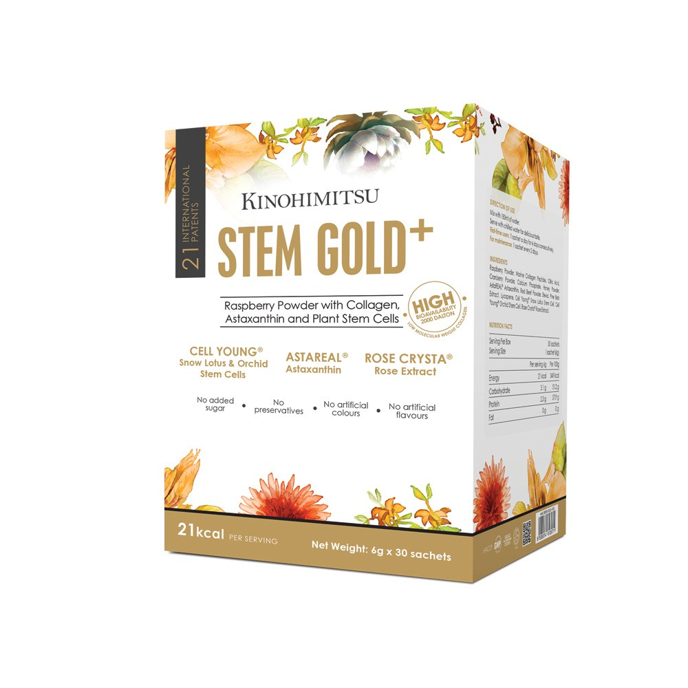 Best collagen drinks Kinohimitsu Stem Gold 30 2