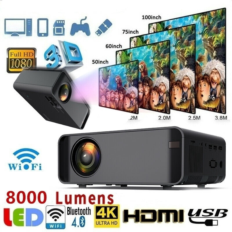 best projectors for home use 8000 lumens