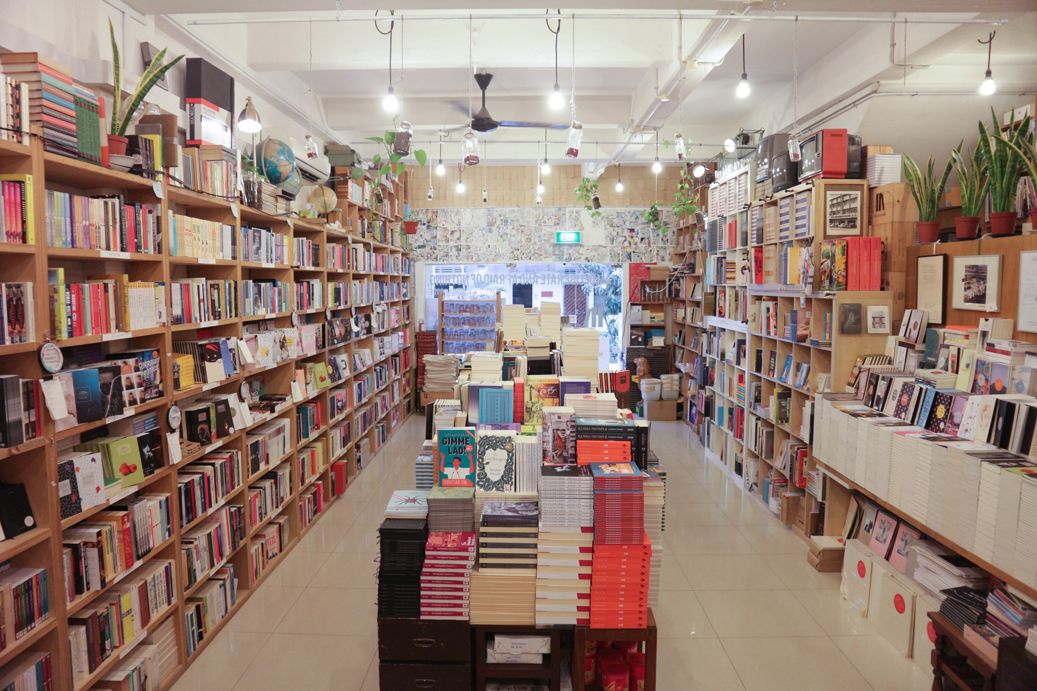 books actually at one of the best neighbourhoods in singapore tiong bahru