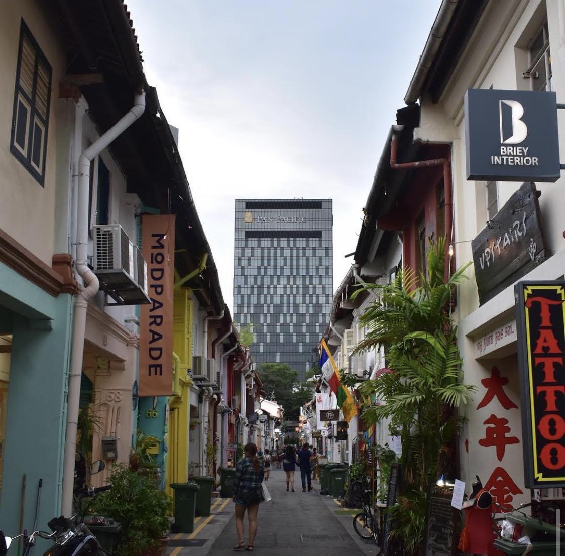 narrow haji lane best neighbourhood in singapore