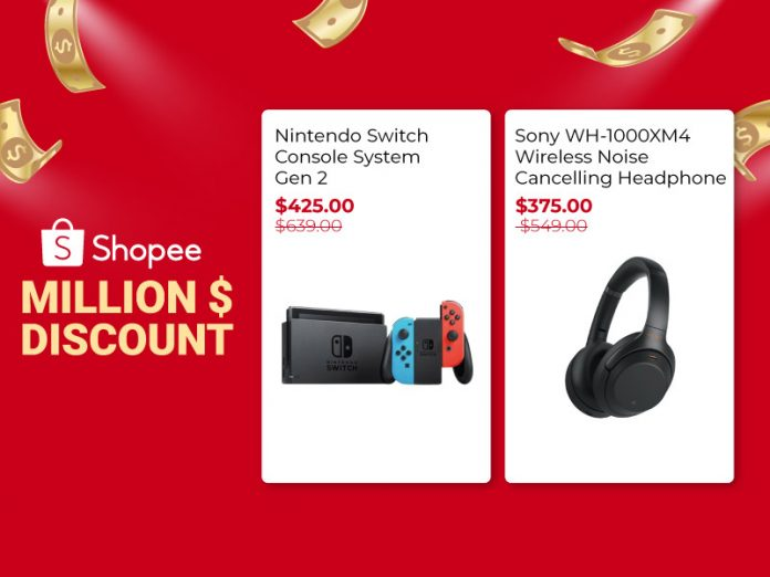 (2020) 11 Million $ Discount Products You Need To Get During Our Shopee Cyber Monday Sale