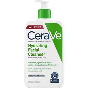 best cerave products hydrating cleanser