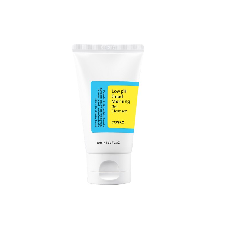 cosrx low ph good morning cgel cleanser korean skin care