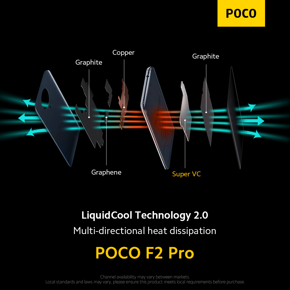 liquidcooling 2.0 POCO F2 Pro singapore