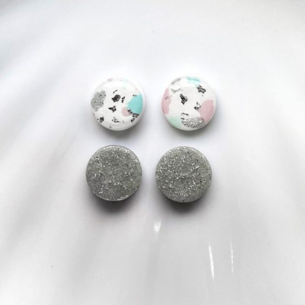 polymer stud earring from best blog shop singapore