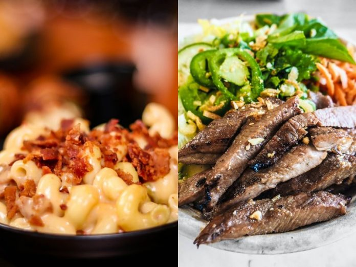 cooking for kids mac and cheese and beef bowl