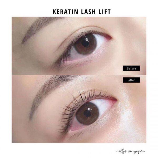 best lash lift singapore milly's famous beauty salon keratin