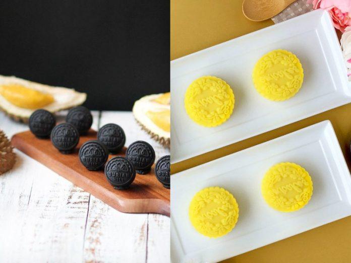 best durian snowskin mooncake singapore 2020 mid autumn festival d24 mao shan wang
