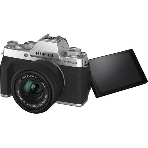 cameras for beginners fujifilm x-t200
