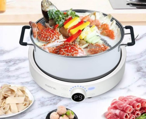 mistral induction cooker steamboat at home