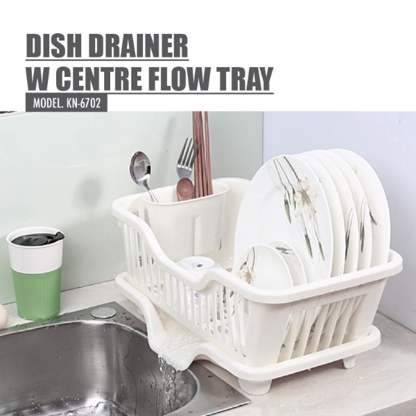 how to organise kitchen keep counter dry with houze dish drainer flow tray