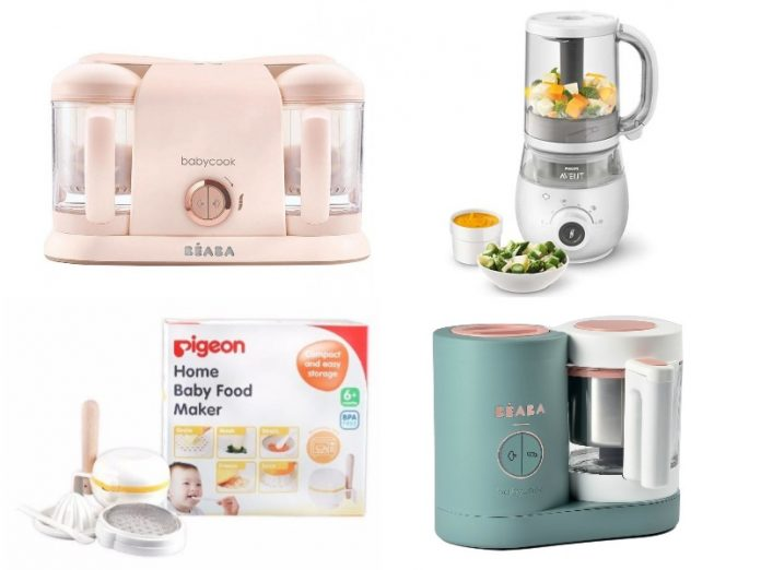 best baby food maker electric manual beaba baby neo philips avent 4-in-1 pigeon