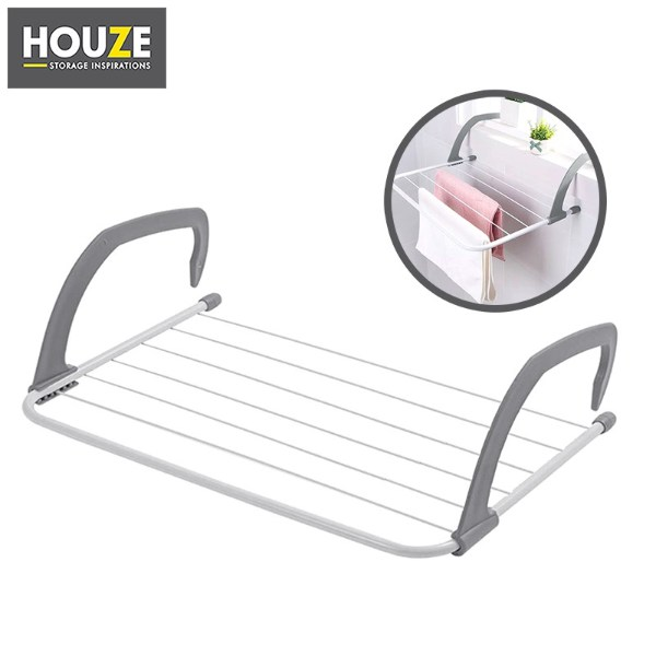 how to organise kitchen by drying wet dish rags on houze wall hanging radiator drying airer over the sink