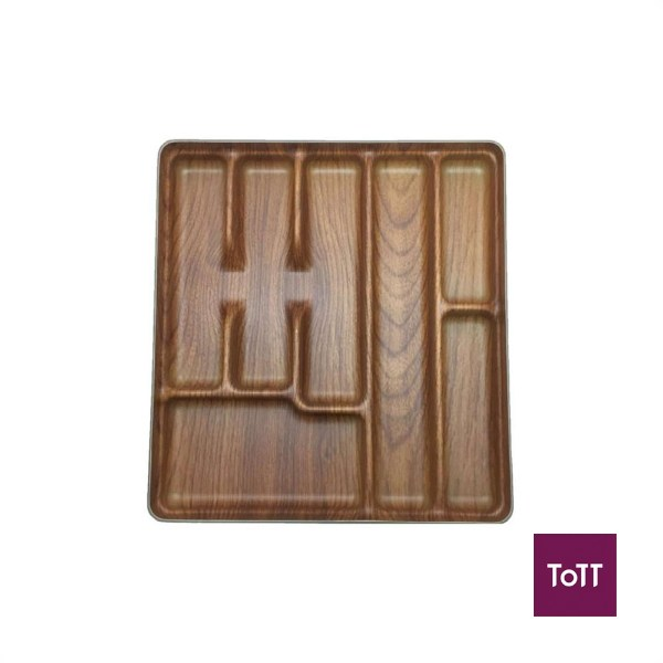how to organise kitchen using ToTT cutlery tray to section out sharp objects