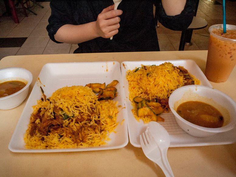 allaudin's best nasi briyani singapore