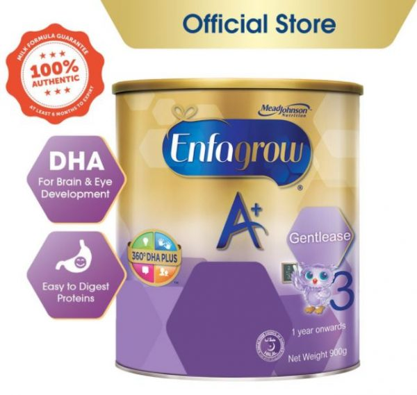 enfagrow a+ stage 3 gentlease best baby milk formula