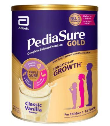 pediasure gold best baby milk formulas
