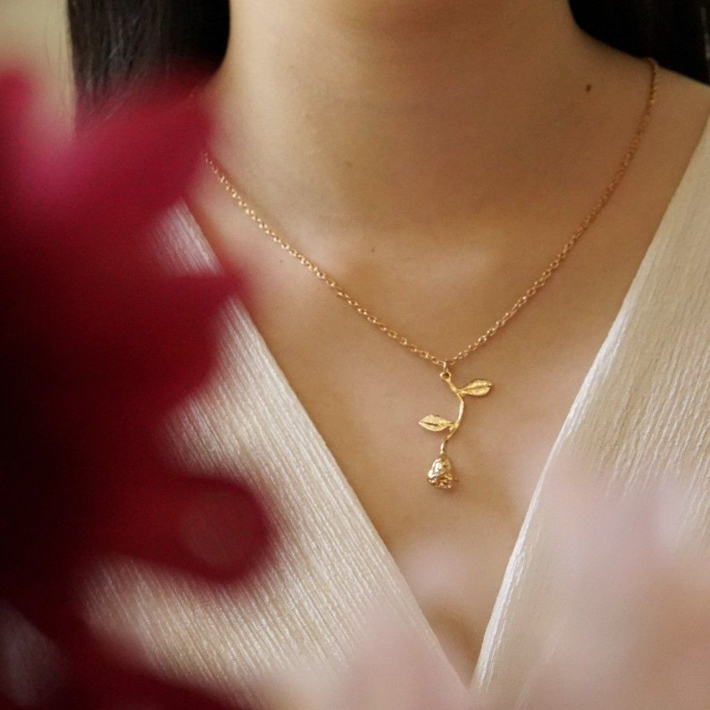 rose necklace best blog shops singapore