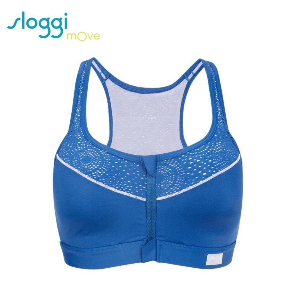 sloggi move high impact sports bra with zipper