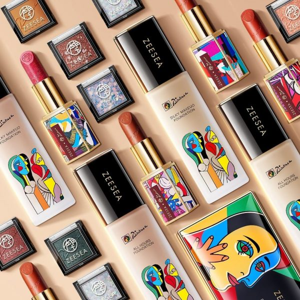 zeesea review picasso collection limited edition makeup chinese beauty brand