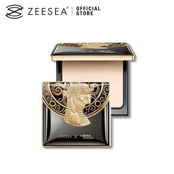 zeesea review british museum matte pressed powder Egyptian queen