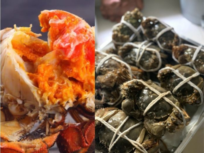 how to cook hairy crab singapore