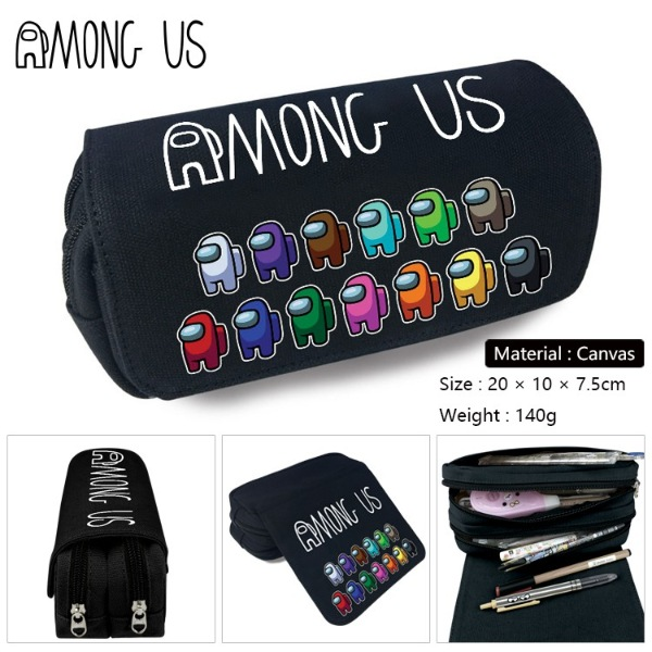 among us pencil case how to play among us