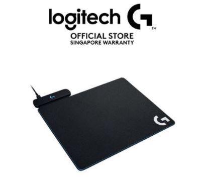 logitech powerplay logitech gaming mousepad