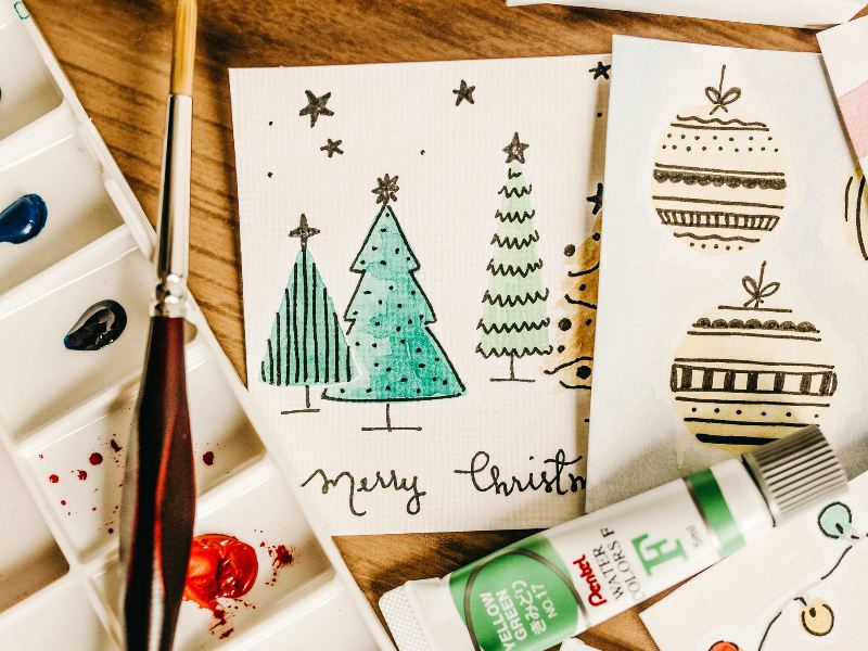 6 Diy Fun And Easy Christmas Card Ideas For Kids