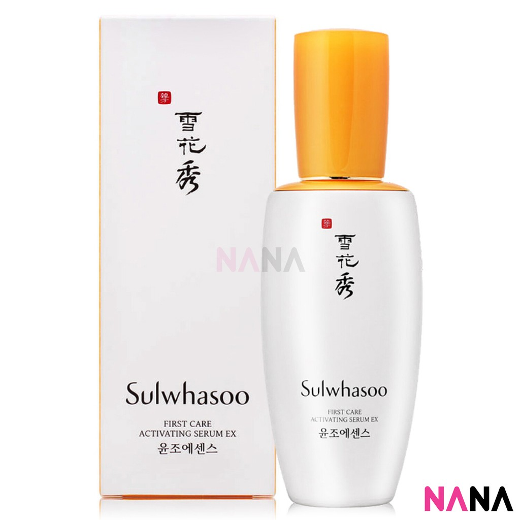 sulwhsoo nana mall first care activating seurm best korean skin care products