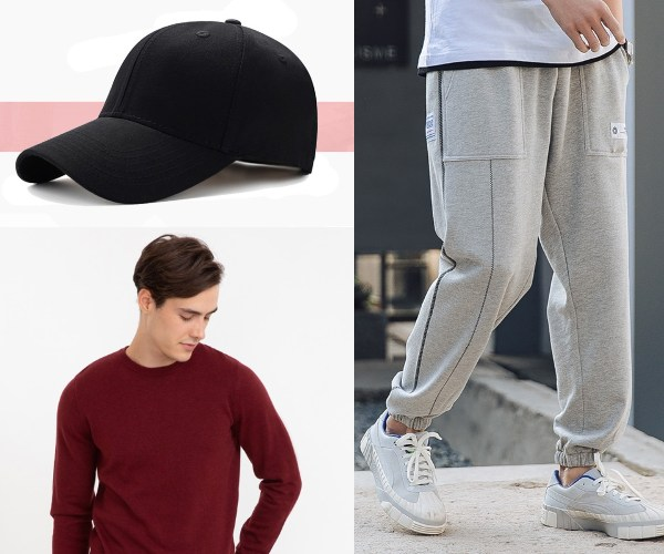 chinese new year clothes for men athleisure bossini pullover joggers cap