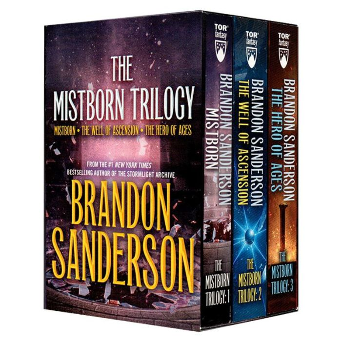 the mistborn trilogy best books to read