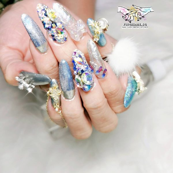 chinese new year nails home based nail salon singappore south alexandra