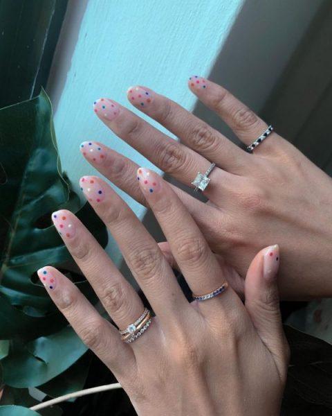 home based nail salon okkonails minimalistic manicure design