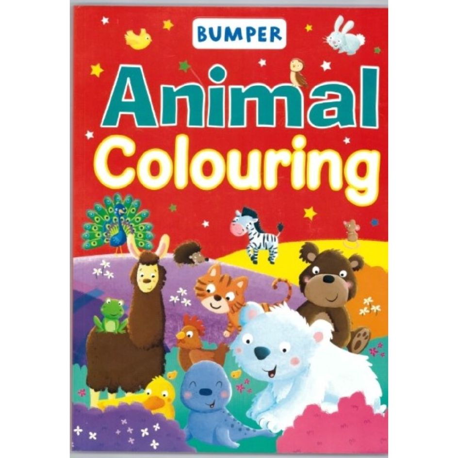 animal colouring book for kids]