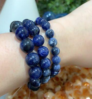 chinese zodiac 2021 goat blue brazil sodalite bracelet crystal