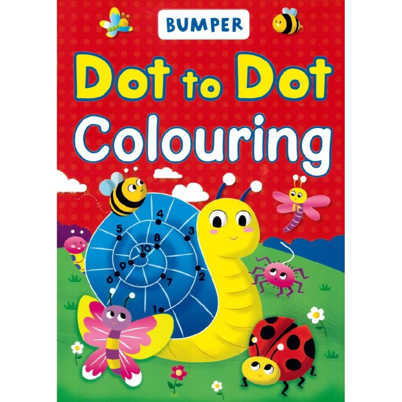 dot to dot colouring book for kids