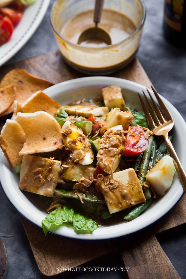 Healthy Eating Recipe Gado Gado