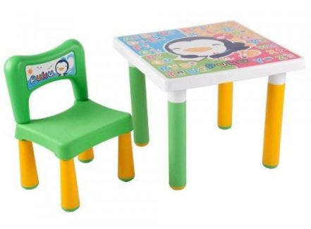 puku kids table chair set children's study table