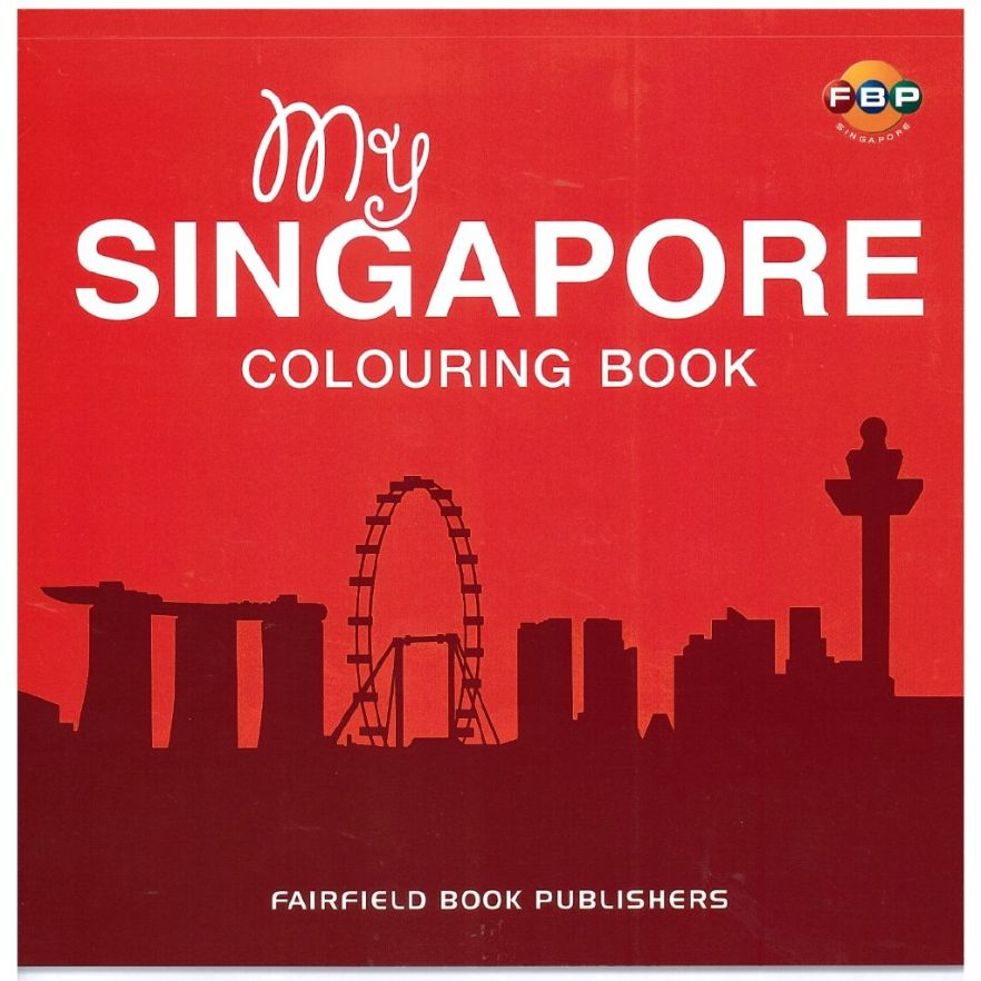 singapore colouring book for kids