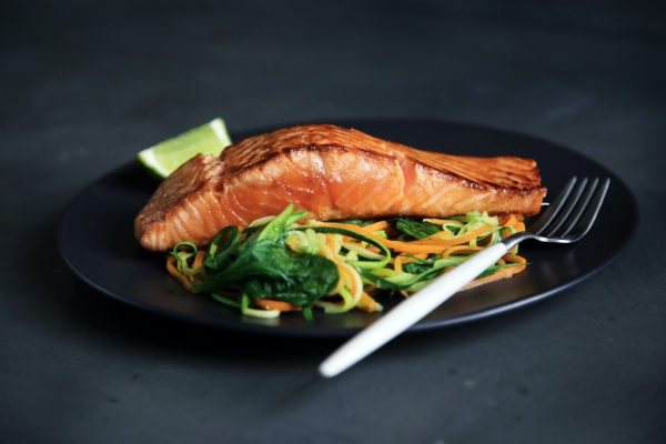 healthy recipes for weight loss spicy salmon with salad easy